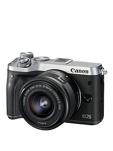 canon-eos-m6-csc-camera-in-silver-with-ef-m-15-45mm-lens