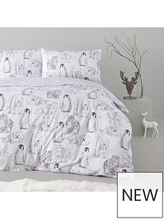 winter-animals-100-brushed-cotton-christmas-duvet-cover-set