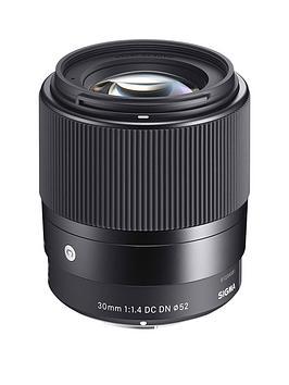 Sigma Sigma 30Mmf/1.4 Dc Dn I C (Contemporary) Prime Standard Lens For Sony E