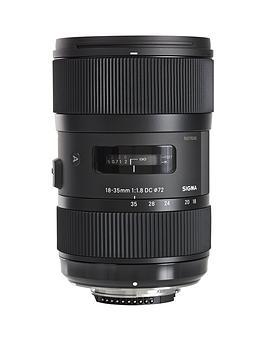 Sigma Sigma 18-35Mm F/1.8 Dc Hsm I A (Art) Standard Zoom Lens Nikon Fit