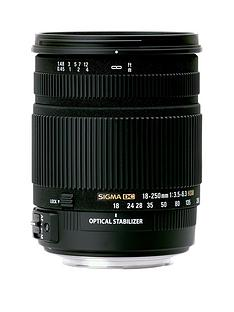 sigma-sigma-18-250mm-f35-63-dc-hsm-stabilised-macro-zoom-lens-nikon-fit