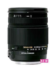 sigma-sigma-18-250mm-f35-63-dc-hsm-stabilised-macro-zoom-lens-nikon-fit