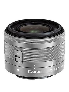 Canon Canon Ef-M 15-45Mm F3.5-6.3 Is Stm Lens Silver