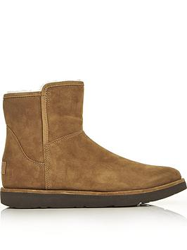 ugg-abree-mini-classic-luxe-lined-ankle-boots-chestnut