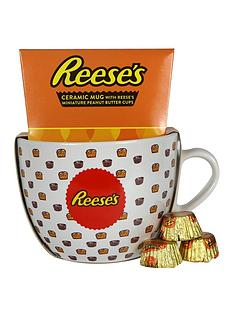 reeses-reeses-ceramic-bowl-mug-with-reeses-miniture-peanut-butter-cups