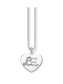 thomas-sabo-sterling-silver-cubic-zirconia-stone-set-live-love-laugh-necklace