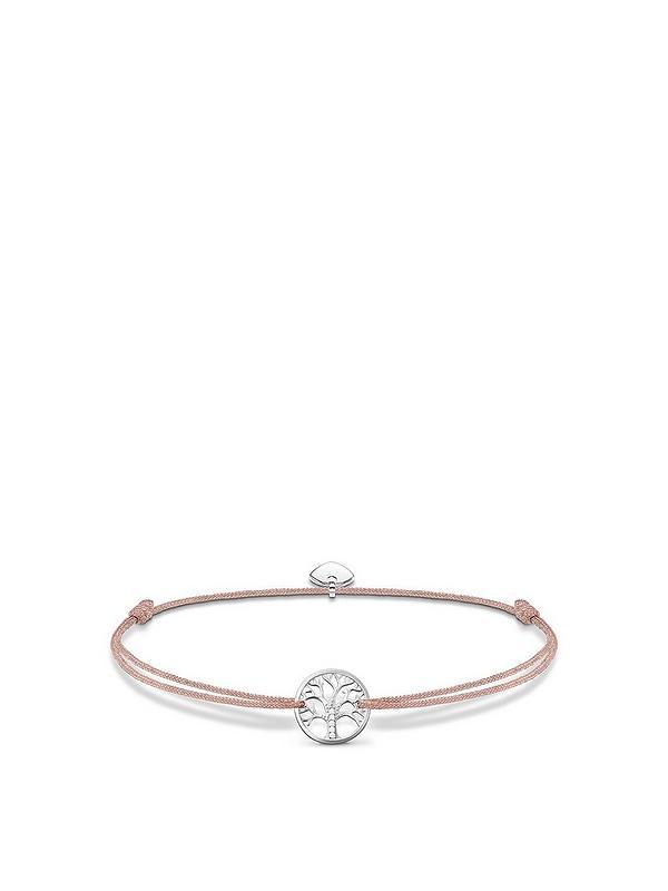128b6ec7757 Thomas Sabo Sterling Silver Little Secrets Tree of Love Bracelet ...
