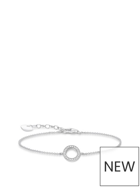 thomas-sabo-sterling-silver-cubic-zirconia-open-classic-circle-bracelet