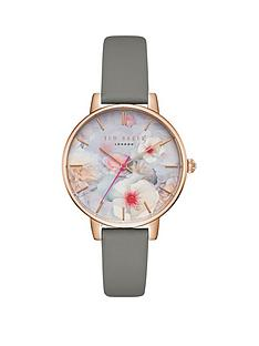 ted-baker-kate-floral-dial-leather-strap-ladies-watch