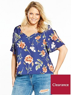 girls-on-film-curve-rose-printed-top-navy-floral