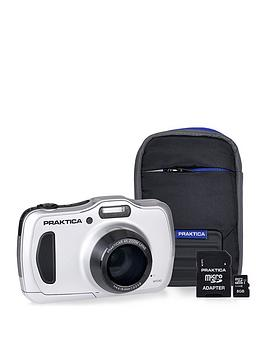 praktica-luxmedia-wp240-waterproof-camera-kit-withnbsp8gb-microsd-card-amp-case