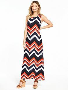 wallis-colour-pop-chevron-maxi-dress