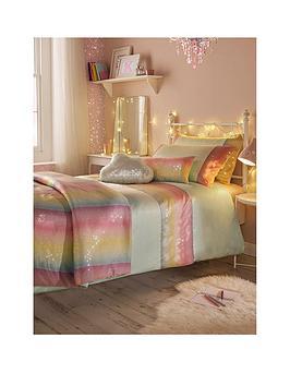 kylie-minogue-rainbow-aqua-sequin-duvet-cover-set