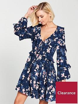 v-by-very-printed-frill-dress
