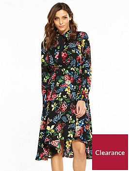 v-by-very-printed-midi-tea-dress