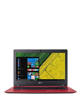 Acer Aspire 1 Intel&Reg; Celeron&Reg;, 4Gb Ram, 32Gb Storage, 14 Inch Laptop With Microsoft Office 365 Personal - Red - Laptop With Microsoft Office 365 Personal