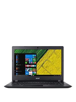 Acer Acer Aspire 1 Intel Celeron 4Gb Ram 32Gb Emmc Ssd 14In Laptop Black - Laptop With Microsoft Office 365 Personal