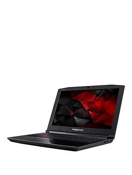 Image of Acer Predator Helios 300 Intel&Reg; Core&Trade; I5 Processor, 16Gb Ram, 128Gb Ssd + 1Tb Hdd, 17.3 Inch Full Hd Gaming Laptop With Geforce Gtx 1050Ti Graphics - Black
