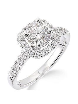 18ctnbspwhite-gold-claw-set-70-point-diamond-square-set-halo-ring