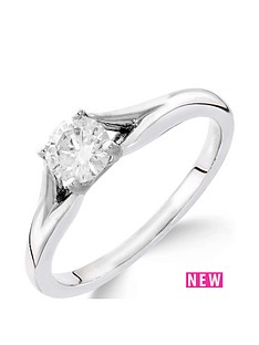 9ct-white-gold-14-carat-diamond-solitaire-with-tapered-shoulders-ring