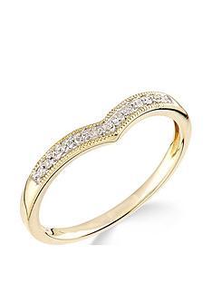 9ct-yellow-gold-diamond-set-wish-bone-ring