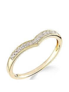 love-gold-9ctnbspyellow-gold-diamond-set-wish-bone-ring