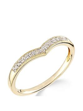 love-gold-9ctnbspyellow-gold-diamond-set-wish-bone-ring