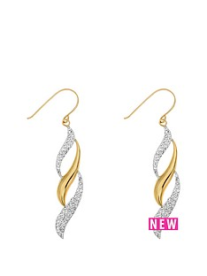 love-gold-9ct-yellow-gold-crystal-triple-flame-drop-earring