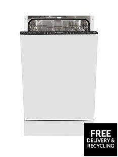 Candy CDI2L952 9-Place Slimline Integrated Dishwasher - White Best Price, Cheapest Prices