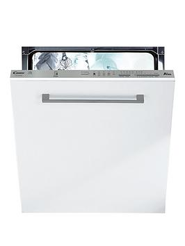 Candy Cdi1Ls38 Full Size 13-Place Integrated Smart Touch Dishwasher - White/Silver - Dishwasher Only Best Price, Cheapest Prices