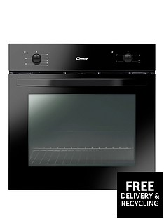 candy-fcs201n-60cm-electric-built-in-single-oven-with-optional-installation-black