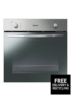 candy-fcs201xnbsp60cm-electric-built-in-single-oven-stainless-steel