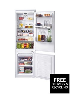 Candy CKBBF172UK 55cm Integrated Fridge Freezer - White
