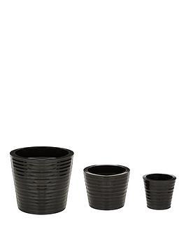 set-3-round-ribbed-zinc-planters