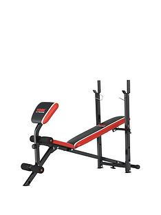 york-york-warrior-2-in-1-barbell-and-ab-bench-with-curl