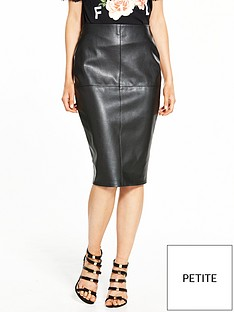 ri-petite-pu-pencil-skirt-black