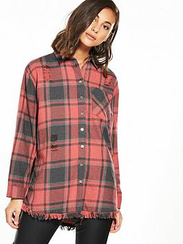 river-island-check-shirt-red