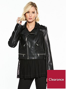 guess-layla-pu-logo-biker-jacket-jet-black