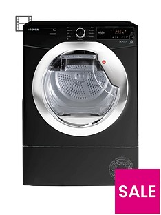 hoover-dynamic-nextnbspdxc9tceb-9kgnbspload-aquavision-condenser-tumble-dryer-with-one-touch-blackchrome