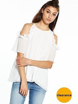 river-island-cold-shoulder-frill-blouse