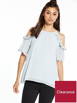 river-island-cold-shoulder-frill-blouse