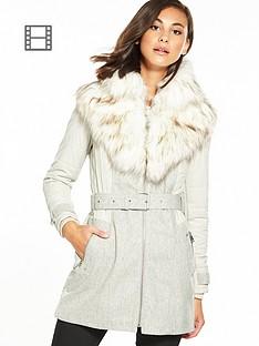 river-island-faux-fur-padded-mix-coat-grey