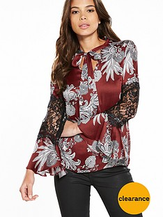 river-island-printed-lace-blouse
