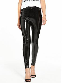 river-island-vinyl-leggings