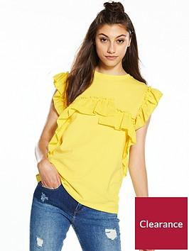 river-island-frill-t-shirt