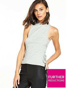 river-island-lace-up-tank