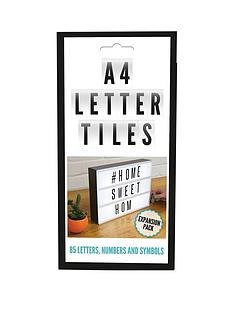 fizz-85-piece-blackwhite-letter-pack-for-cinematic-message-board