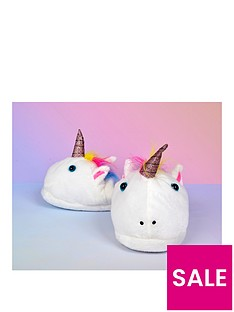 unicorn-slippers