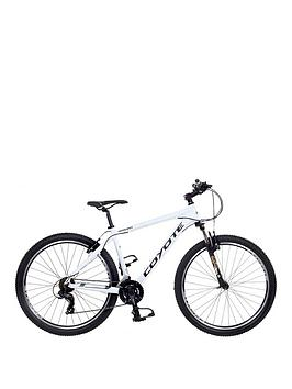 Image of Coyote Arawak 21-Speed Alloy Mens Mountain Bike 18 inch Frame, White, Men