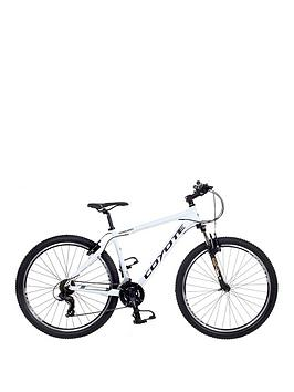 Image of Coyote Arawak 21-Speed Alloy Mens Mountain Bike 20 inch Frame, White, Men